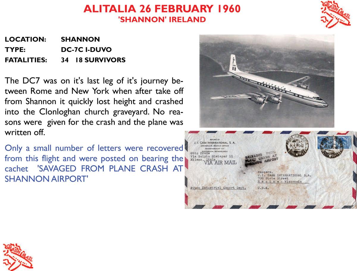 Crash Mail   Crash-Mail After 1950